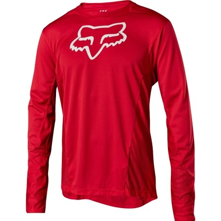 Tricou de ciclism bărbați - Fox Sports & Clothing LS CAMO BURN - 1