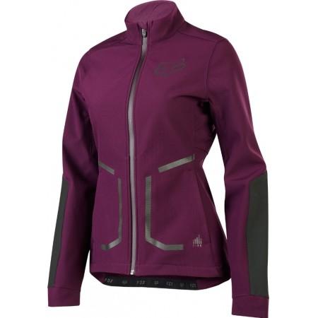 Geacă ciclism de damă - Fox Sports & Clothing W ATTACK FIRE SOFTSH - 1