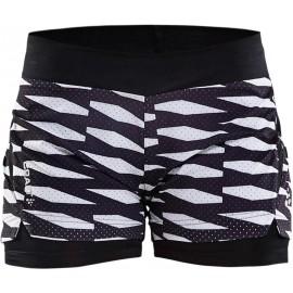 Craft BREAK 2IN1 SHORT W - Pantaloni de alergare pentru femei