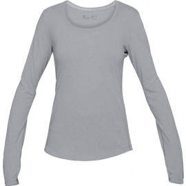 Under Armour THREADBORNE STREAKER LONG SL - Tricou funcțional de damă