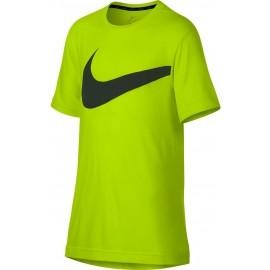 Nike BREATHE TOP SS HYPER GFX - Tricou de antrenament băieți