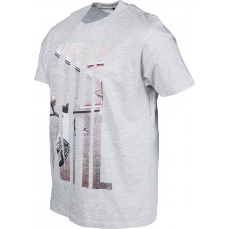 Tricou de bărbați - Russell Athletic S/S CREW TEE WITH 'ATHL.' PHOTO-EFFECT PRINT - 2