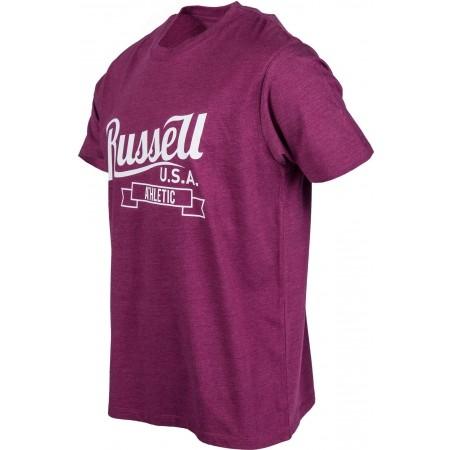 Tricou de bărbați - Russell Athletic S/S CREW NECK TEE WITH SCRIPT STYLE PRINT - 2