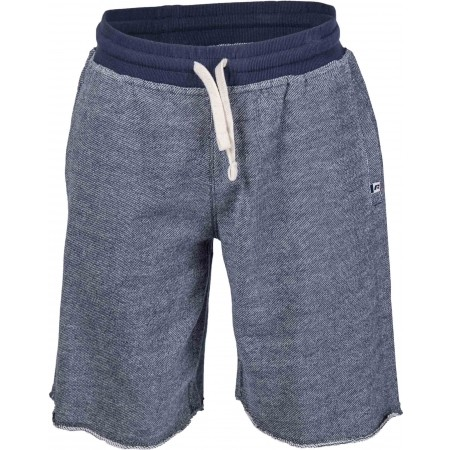 Șort de bărbați - Russell Athletic RAW EDGE SEAMLESS SHORTS WITH TAB LABEL SIGN-OFF - 2