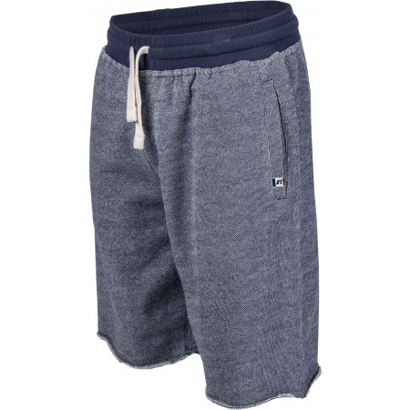 Șort de bărbați - Russell Athletic RAW EDGE SEAMLESS SHORTS WITH TAB LABEL SIGN-OFF - 1