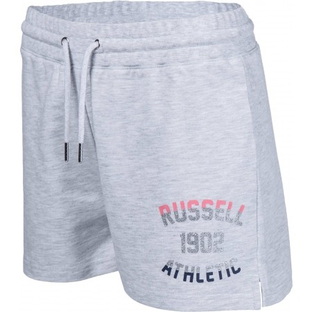 Șort de damă - Russell Athletic SHORTS WITH MIXED DUAL TECHNIQUE PRINT - 1
