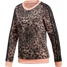 adidas ESSENTIALS ALL OVER PRINTED SWEATSHIRT - Pulover de damă