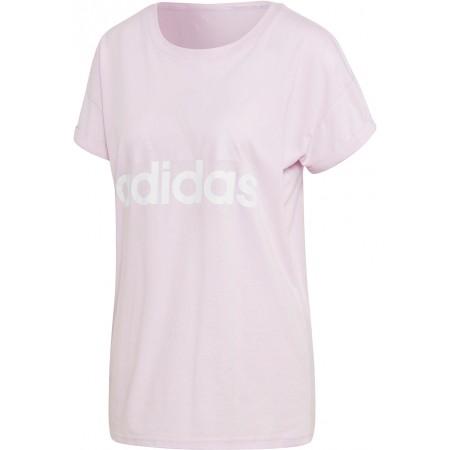 Tricou de damă - adidas ESSENTIALS LINEAR LOOSE TEE - 1