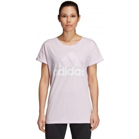 Tricou de damă - adidas ESSENTIALS LINEAR LOOSE TEE - 2