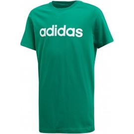 adidas ESSENTIALS LINEAR TEE - Tricou de antrenament juniori