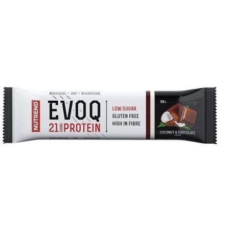 Baton cu proteine - Nutrend EVOQ COCOS ȘI CIOCOLATĂ