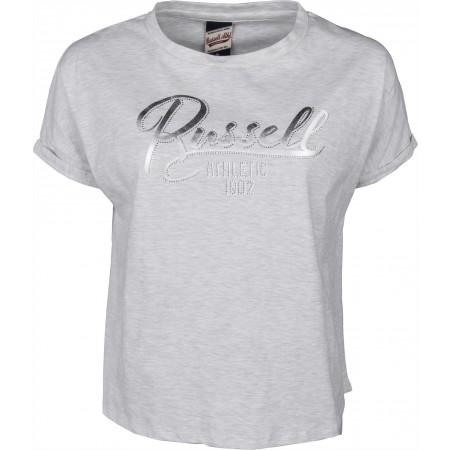 Tricou de damă - Russell Athletic GLITTER TEE - 1