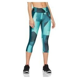 Under Armour SPEED STRIDE PRINTED CAPRI - Colanți compresie de damă