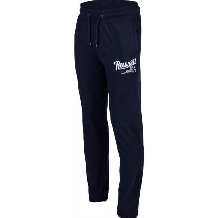 Pantaloni trening bărbați - Russell Athletic JERSEY CLOUSED PANT - 1