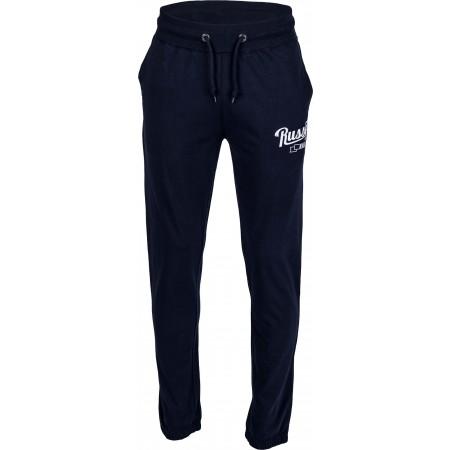 Pantaloni trening bărbați - Russell Athletic JERSEY CLOUSED PANT - 2