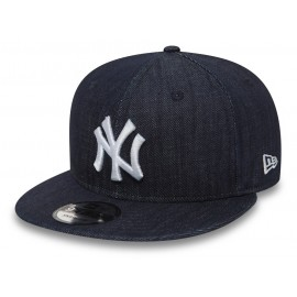 New Era 9FIFTY DENIM NEW YORK YANKEES - Șapcă snapback de bărbați