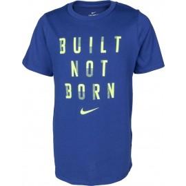 Nike DRY TEE BUILT NOT BORN B - Tricou de antrenament băieți