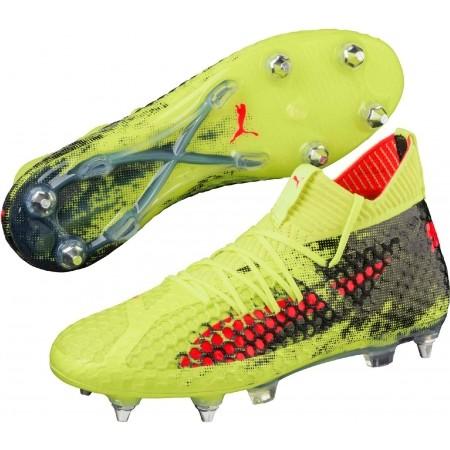 Ghete fotbal bărbați - Puma FUTURE 18.1 NETFIT SG