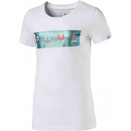Puma STYLE GRAPHIC TEE 1 JR - Tricou fete