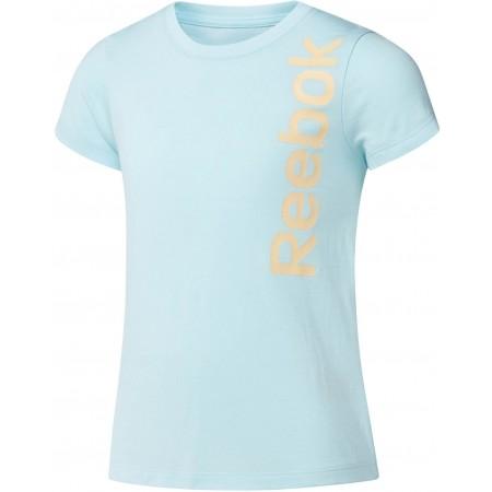 Tricou sport de copii - Reebok GIRLS ESSENTIALS BASIC T-SHIRT - 1
