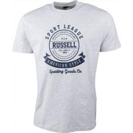 Russell Athletic S/S CREW NECK RAISED - Tricou de bărbați