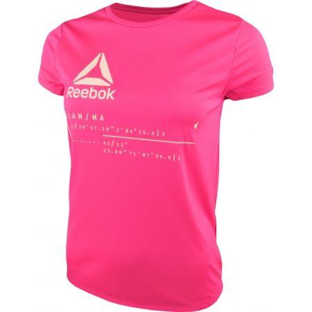 Tricou sport de copii - Reebok GIRLS WORKOUT READY - 2