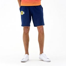 New Era NE LOS ANGELES LAKERS COASTAL HEAT SHORT - Pantaloni scurți de bărbați