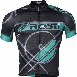 Rosti RUOTA DL ZIP - Tricou ciclism bărbați