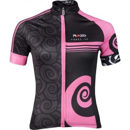 Tricou ciclism damă - Rosti FURY LADY DL ZIP - 1