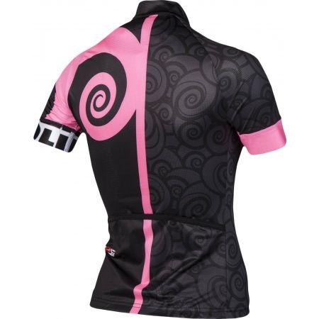 Tricou ciclism damă - Rosti FURY LADY DL ZIP - 3