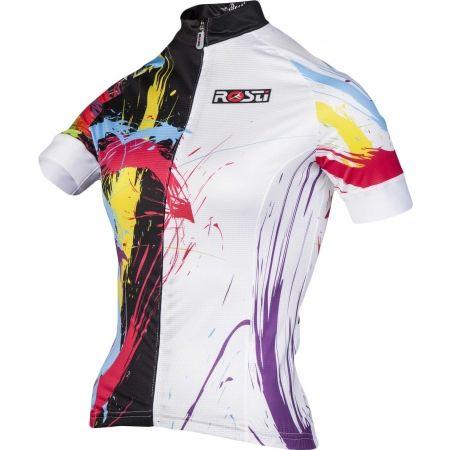 Tricou ciclism damă - Rosti KID DL ZIP - 2