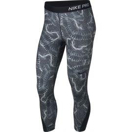 Nike CROP PRT CHAIN FEATHER - Colanți sport damă
