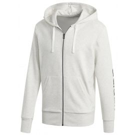 adidas ESSENTIALS LINEAR FULL-ZIP HOOD FRENCH TERRY - Hanorac bărbați
