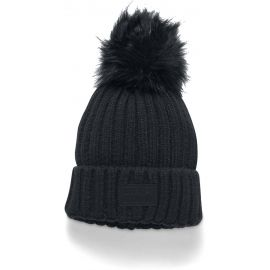 Under Armour SNOWCREST POM BEANIE - Căciulă tricotată de damă