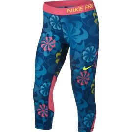 Nike NP CAPRI AOP1 - Colanți sport fete