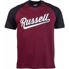 Russell Athletic RAGLAN CREW NECK TEE